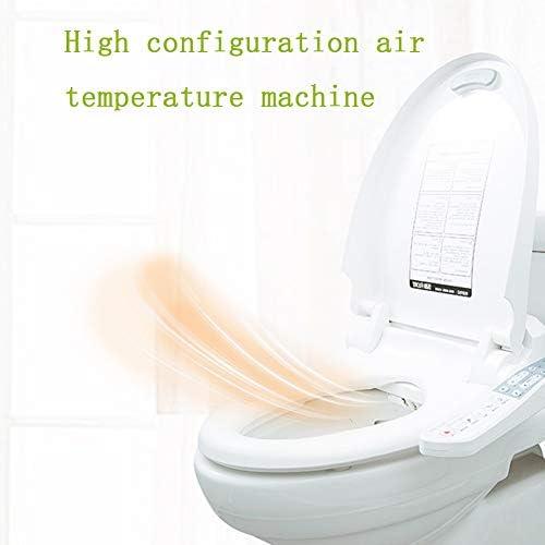 スマートトイレシート、セルフクリーニングワンド、静かな閉蓋付き、フェミニンクリーニング、ソフトクローズ蓋、簡単な取り付け、温風乾燥機、加熱シート。