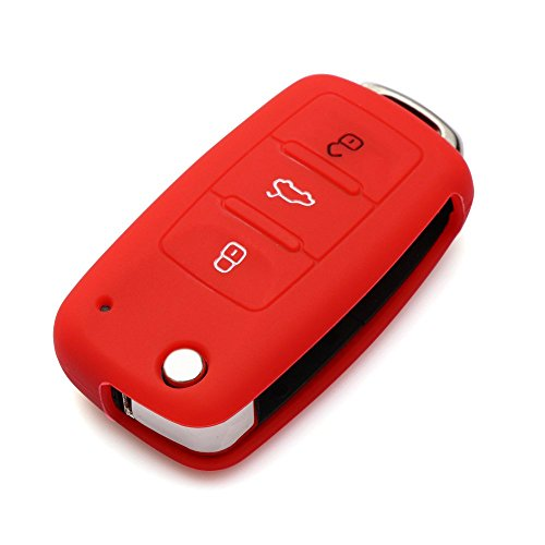 - 9 MOON Silicone Remote Flip Key FOB Silicone Case Cover for VW Volkswagen New
