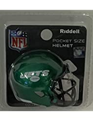 db23d205 NY New York Jets 2019 Logo Riddell Speed Pocket Pro Football Helmet - New  in package