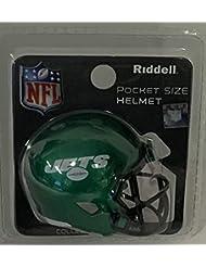 9d062fcc7 NY New York Jets 2019 Logo Riddell Speed Pocket Pro Football Helmet - New  in package