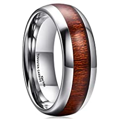 "King Will, not only No.1 brand of tungsten carbide ring on Amazon King Will, not only an excellent brand of wedding rings on Amazon, but also means the vow keeper. ""I will take you to be my wife; to have and to hold from this day forward, for..."