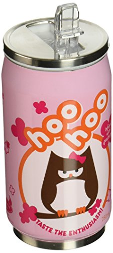 Beatrix New York Cozy Can: Owl, Pink (Insulated Sippy Cup Owl compare prices)