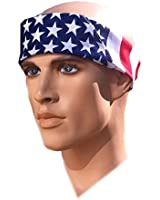 Team USA Apparel American Flag Bandana Headband US Bandana For Men USA Flag