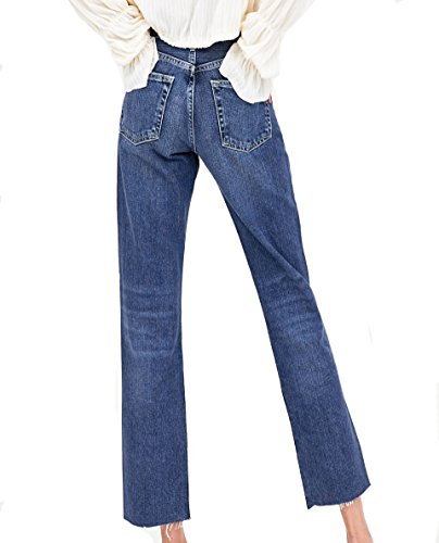 Zara Donna Jeans authentic denim spacco vita alta 6688/009
