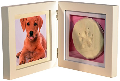 Concord xn-02Double Frame Photo and Footprint, Pink-13x 13