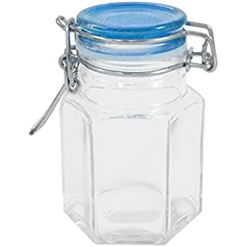 mini mason jar glass container with air tight. Black Bedroom Furniture Sets. Home Design Ideas