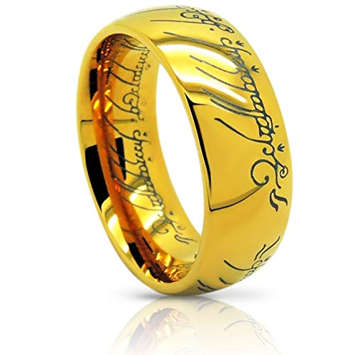 Atomic Jewelry ElvishThe One (Tungsten) Ring 18k Gold Plating ()