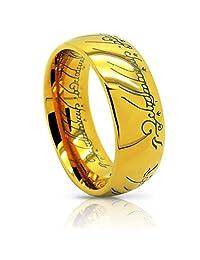 Atomic Jewelry Elvish *The One (Tungsten) Ring* 18k Gold Plating