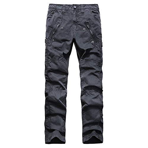 Cargo Jeans Armée Jeunesse Ssen Militaire Gris Pantalon Longue Avec Combat Ssige Travailler dTZRwEv