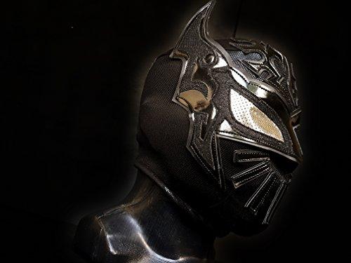[SIN CARA MASK WRESTLING MASK LUCHADOR COSTUME WRESTLER LUCHA LIBRE MEXICAN MASKE] (666 Halloween Costume)