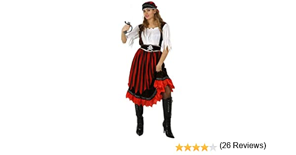 Atosa-95549 Disfraz Pirata M-L, color marrón, (95549): Amazon.es ...