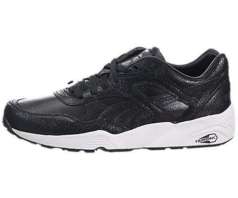 R698 Trinomic Crackle Mens in Black by Puma, 11.5 (Crackle Footwear)