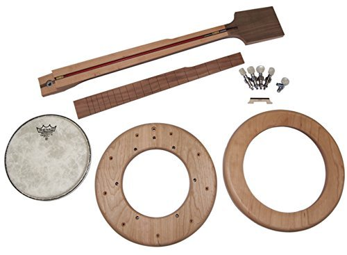Open Back Mountain Banjo DIY Woodworking Kit by Musicmakers by Musicmakers
