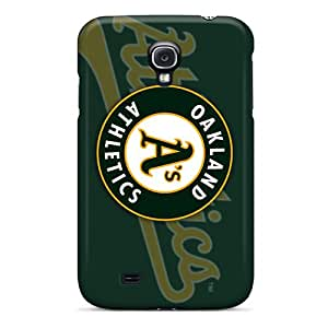 Scratch Protection Hard Phone Cases For Samsung Galaxy S4 With Allow Personal Design High Resolution Oakland Athletics Skin WandaDicks