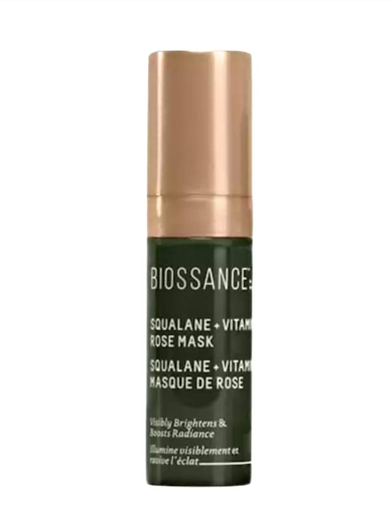 Biossance Squalane + Vitamin C Rose Mask - .13 oz. Trial Size