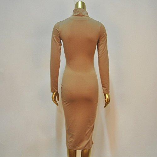 schwarz Kleid schwarz 38 Etui X Damen C Coffee Trendy pzcSfFYWWq