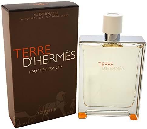 Hermes Terre d'Hermes Eau Tres Fraiche Cologne, 4.2 Ounce