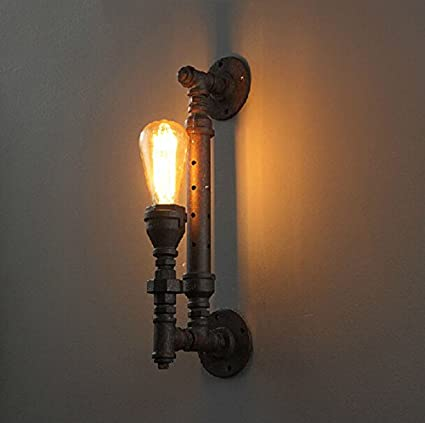 Getop Industrial Rustic Steampunk Minimalist 1-light Water Metal ...