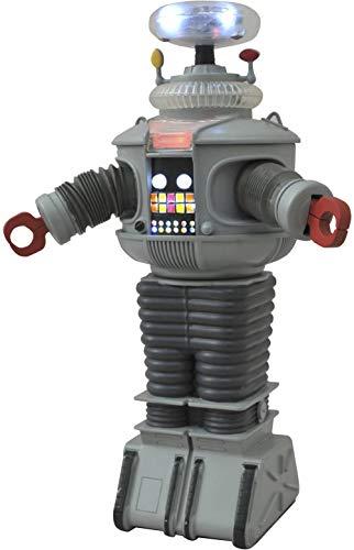 다이아몬드를 선택하는 장난감 공간에서 길을 잃었:전자 빛과 소리 B9 로봇 그림 멀티 컬러 10 인치