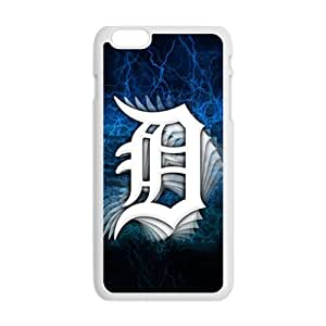 SANLSI Detroit Tigers Cell Phone Case for Iphone 6 Plus
