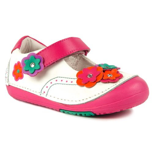 Momo Baby Girls First Walker/Toddler Oxfords Mary Jane Leather Shoes