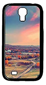Fun Day Autumn Sunset Clouds Protective Hard Pc Snap On Case For Samsung Galaxy S4 I9500-1122051