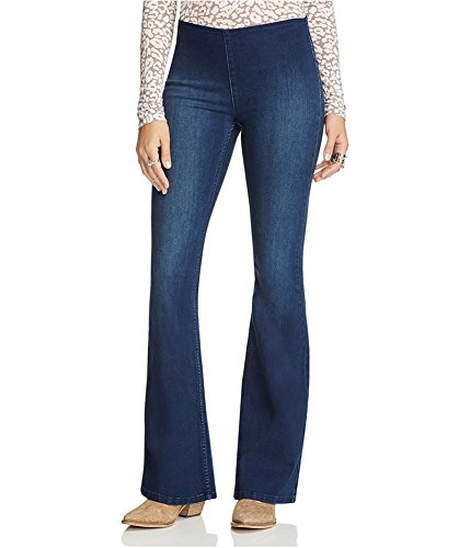 Blue 2 Flare Jeans - 8