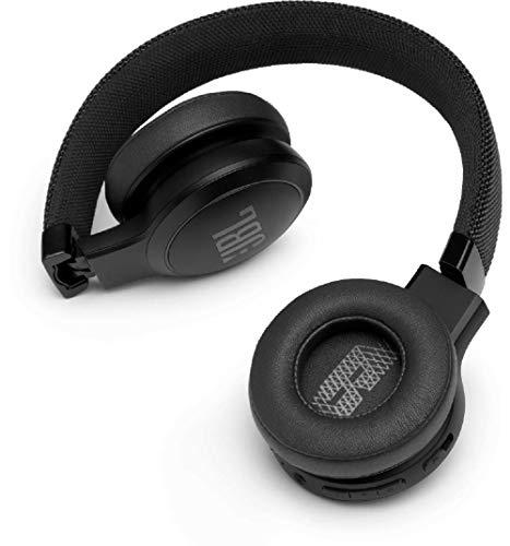 JBL LIVE 400BT Auriculares Inalámbricos con Bluetooth, Alexa integrada y Asistente de Google – Calidad de Sonido JBL y función...