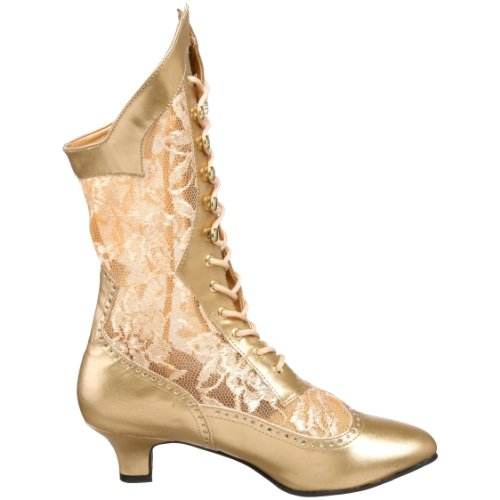 Funtasma Women's 115 Polyurethane Gold by Boot Dame Pleaser Gold ErwnrgqF4