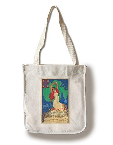 (Cordoba Vintage Poster (Artist: Alcala) Spain c. 1928 (100% Cotton Tote Bag - Reusable) )