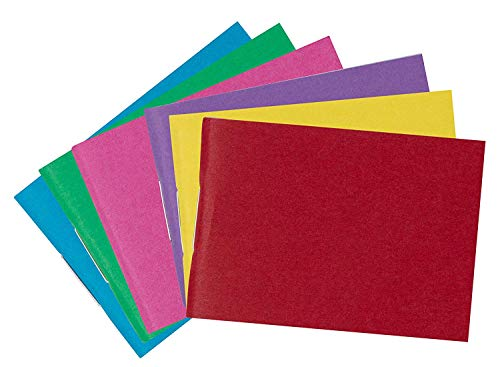 - Miniature Blank-Book - 24-Pack Mini Colorful Blank Books, Unlined Plain Inner Pages for Creative Kids Projects, Toys and Games, Stapled Binding, 6 Assorted Colors, 1.55 x 2.2 Inches, 32 Sheets