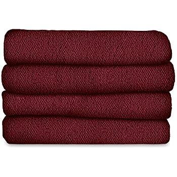 Sunbeam Heated Blanket | LoftTec, 10 Heat Settings, Garnet, Twin - BRL9STS-R310-16A44