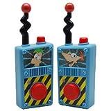 Disney Phineas and Ferb Walkie Talkies