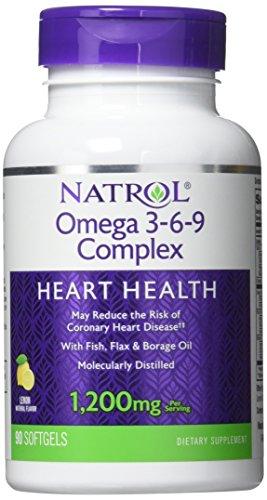 (Natrol - Omega 3-6-9 Complex, 90 softgels)