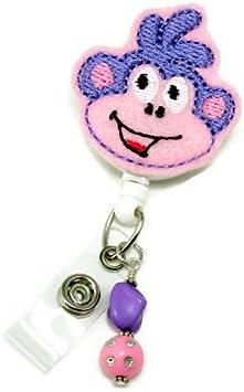 ID Badge Nurse Badge Reel Felt Nurse Badge Badge Clip Medical Badge Reel Funny Badge Reel Nurse Name Badge Holder Badge Reel