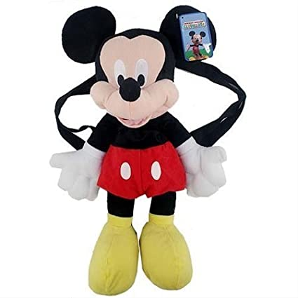 Mickey Mouse Plush Backpack - Mickey Mouse Backpack