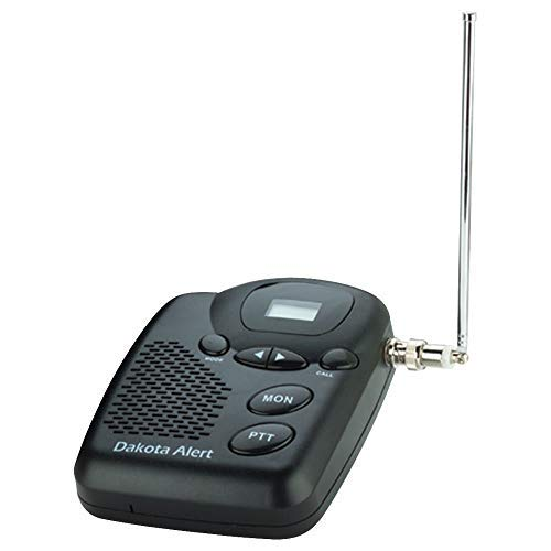 Dakota Alert M538-BS MURS Base Station - Multi Use Radio Service Transceiver with Telescopic Antenna and Normally Open Relay Output