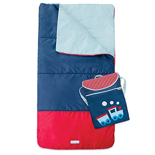 JJ Cole Sleeping Backpack Train product image