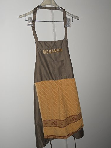 Chef apron with fake penis costom
