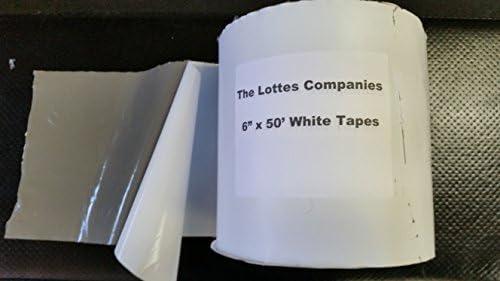 Fba Roof And Rv White Rubber Repair Tape 6 X 50 Amazon Com
