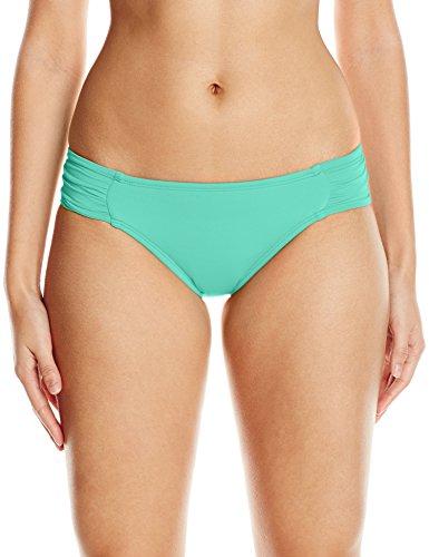- La Blanca Women's Island Goddess Side Shirred Hipster Bikini Swimsuit Bottom, Seafoam, 4