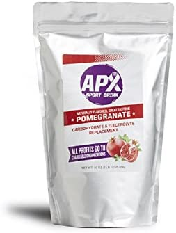 APX Electrolyte Replacement Sport Drink 2 lb. 1 oz. 33 oz. 936 g Bag Pomegranate