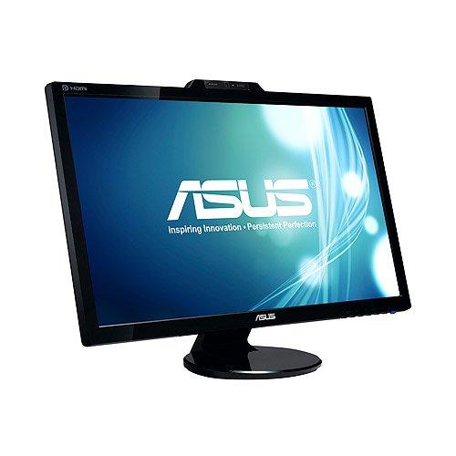 Asus VK278Q 27 inch WideScreen 2ms 10,000,000:1 VGA/DVI/HDMI/DisplayPort LCD Monitor, w/ Speakers & Webcam (Black) by Asus (Image #1)