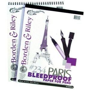 Paris Paper 11x14 40 Sht Pad 40 Sht Pad
