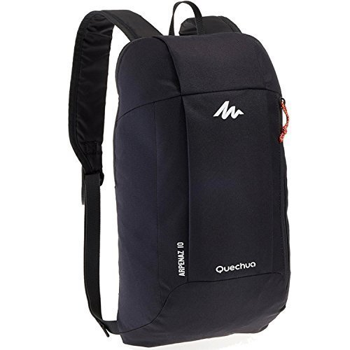 Quechua Kids Adults X-Sports Decathlon 10L Outdoor Day Backpack Small - Dark (Child Universal Studios)