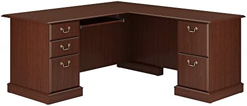 Bush Furniture Saratoga L Shaped Computer Desk