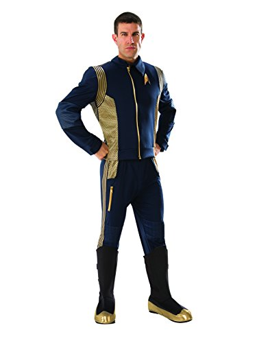 Rubie's Men's Star Trek Discovery Grand Heritage Command Uniform Adult Costume, Standard -