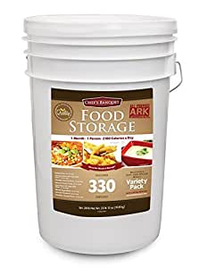 Chef's Banquet 30 Day (330 Servings) Emergency Food Supply / Food Storage Kit (1 PACK)