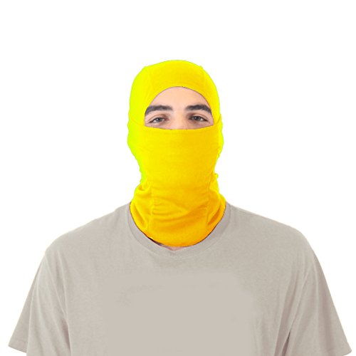 yellow ninja mask - 1