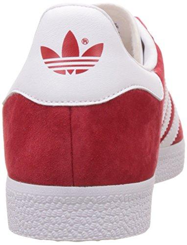 Scarpe Da Ginnastica Adidas Originali Gazzella Da Uomo Scarpe Da Ginnastica Scarlatto / Bianco